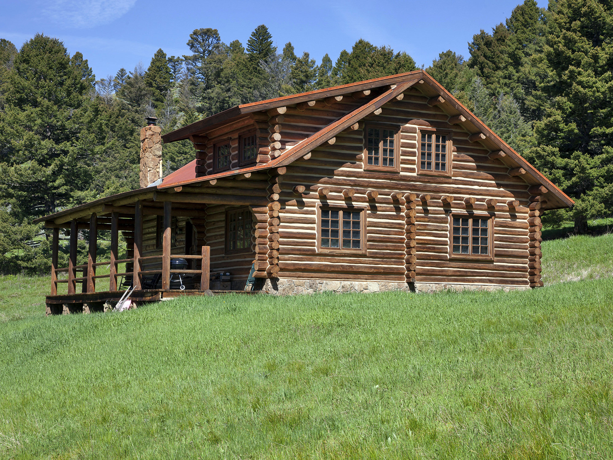 Rustic cabins for sale in montana bozeman log cabins for for Cabin builders montana