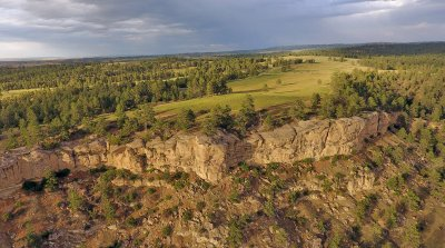 Open country with lots of space on this Montana ranch for sale