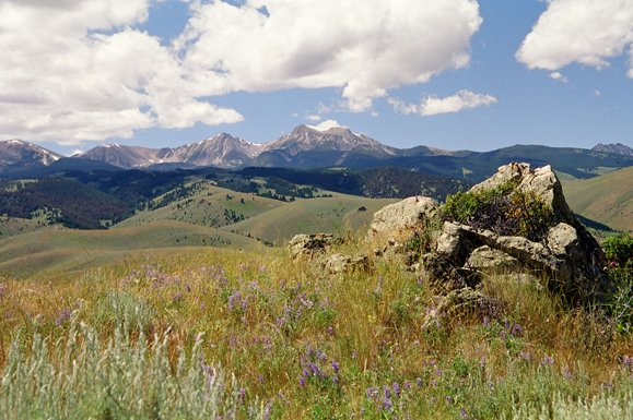 Montana ranch for sale with sweeping mountain views
