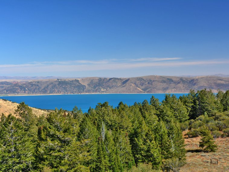 Idaho ranch for sale with sweeping lake views