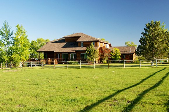 South Willow Creek Custom Home and 20 Acres - Montana Home and Ranch For Sale