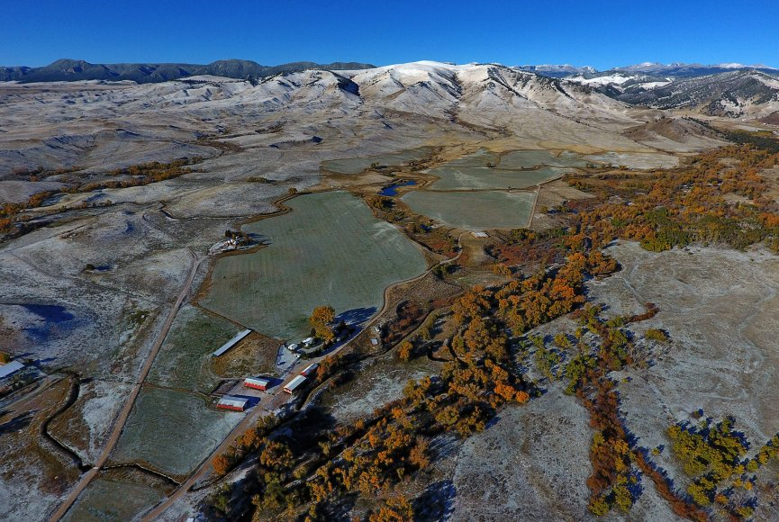 Wyoming ranch for sale has many opportunities