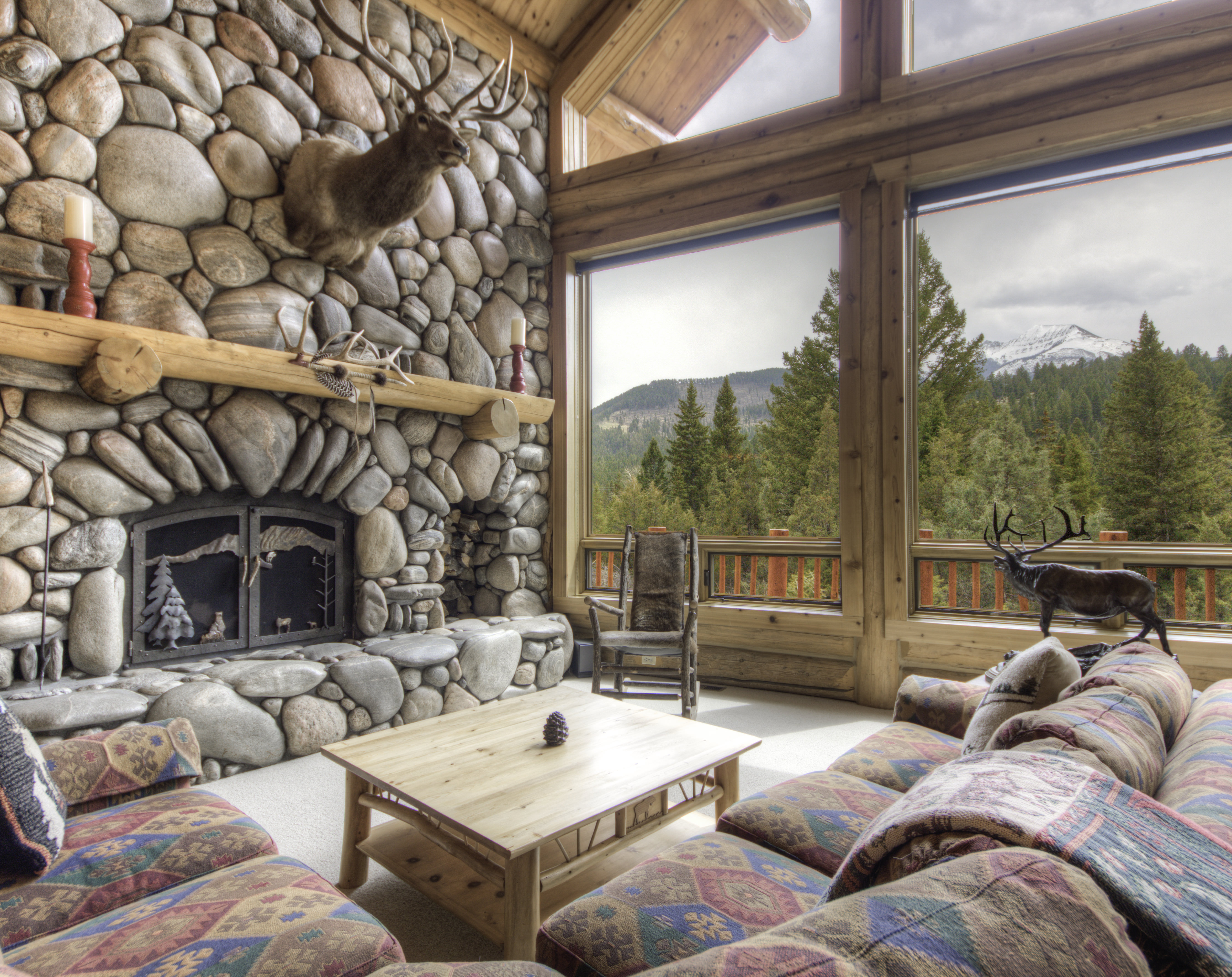 Luxury Home With Large Living Space On This Montana Property For Sale