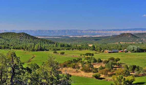 Utah ranch for sale located on a peaceful setting