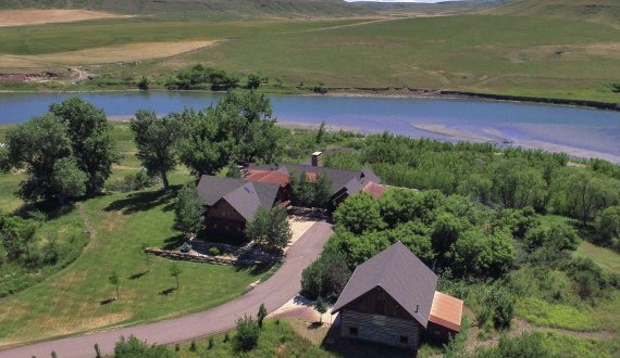 Montana property for sale is listed by Swan Land Company