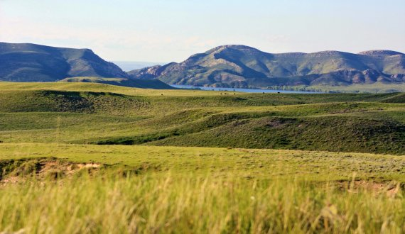 Sweeping views on this Wyoming ranch for sale