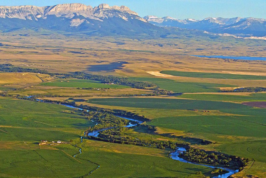 Land as far as the eye can see is prime property for sale in Montana