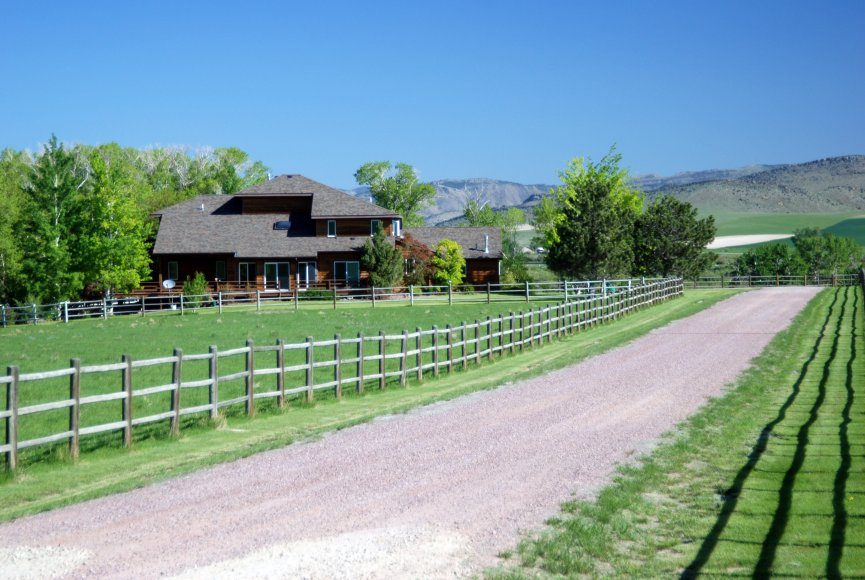 Large Montana property for sale with home