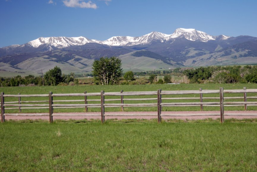 Property for sale in Montana with amazing views
