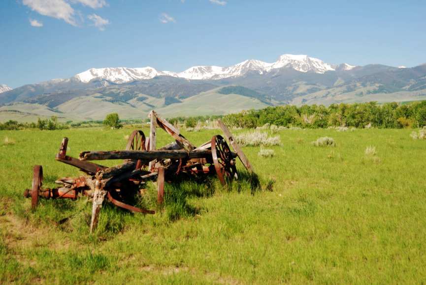 Natural feel throughout the Montana property for sale