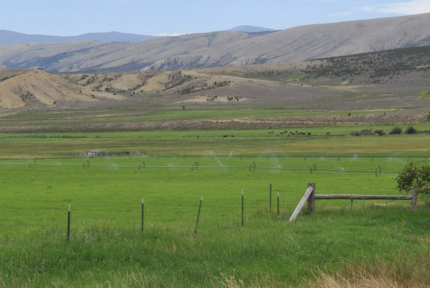 Serene setting on this Utah ranch for sale listed by Swan Land Company