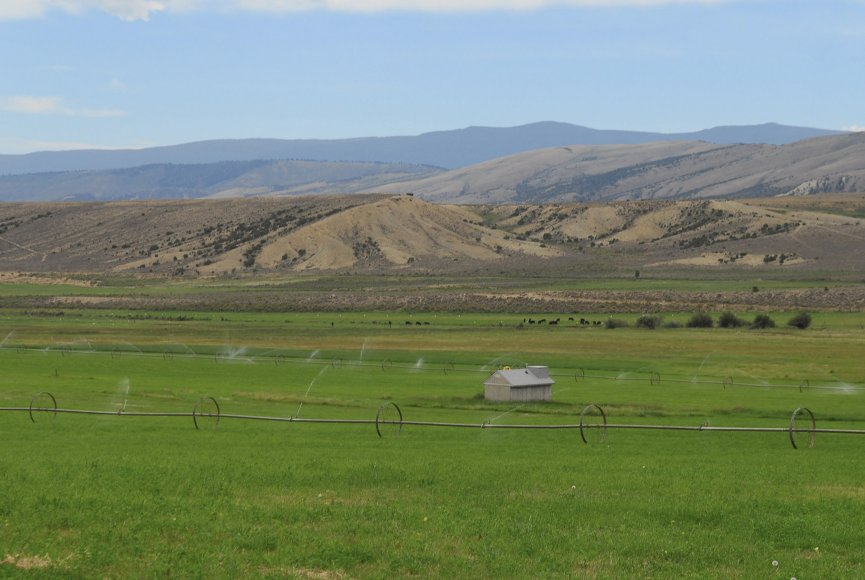 Wide open space on this Utah property for sale