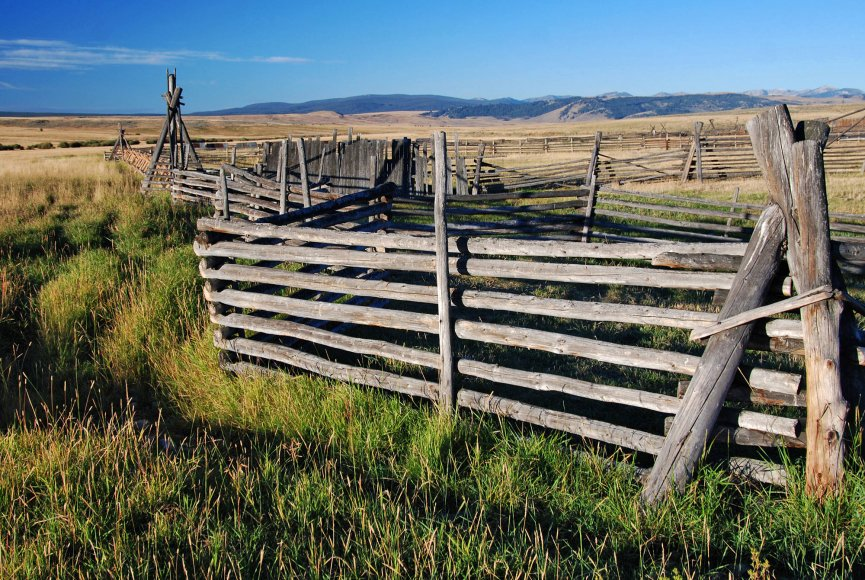 Large ranch for sale in Montana listed by Swan Land Company