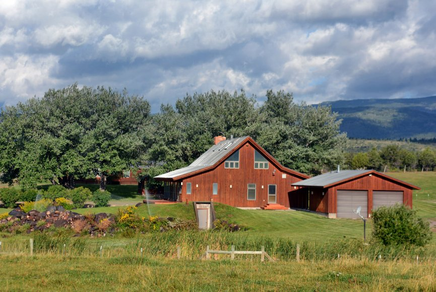 Barn on this large Utah ranch for sale listed by Swan Land Company