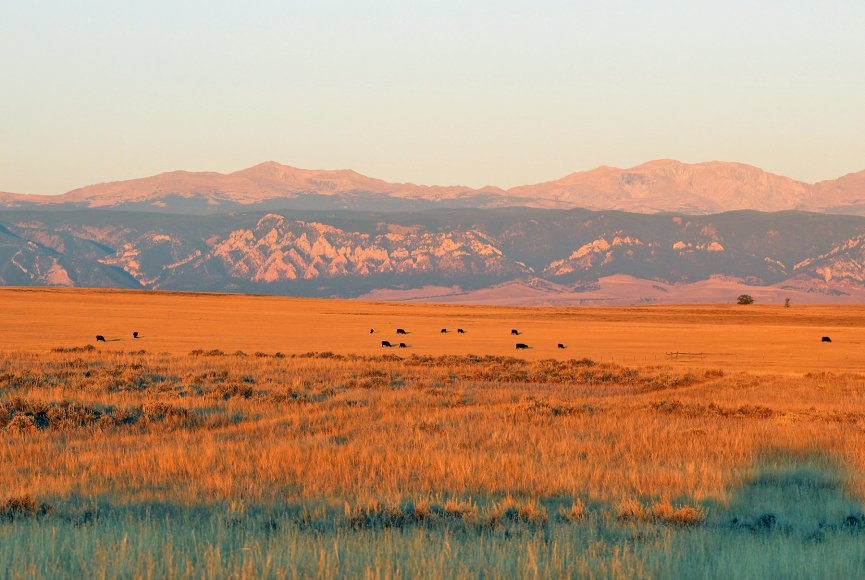 Land as far as the eye can see is prime property for sale in Wyoming
