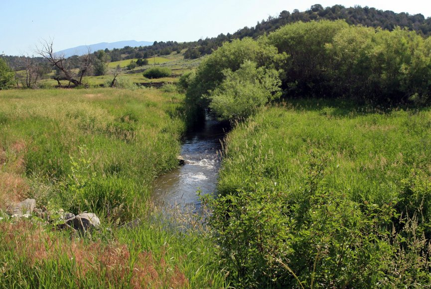 Ranch for sale in Montana with water source