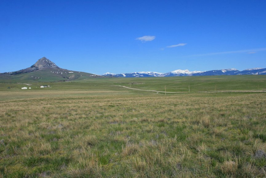Quiet setting on this Montana ranch for sale listed by Swan Land Company