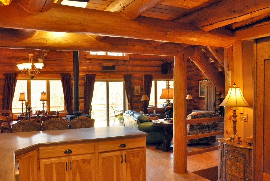 Experience true Montana solitude on this property for sale in Montana