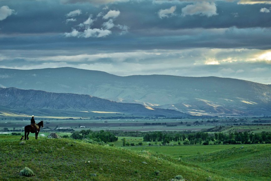 Serenity on this Montana working ranch for sale