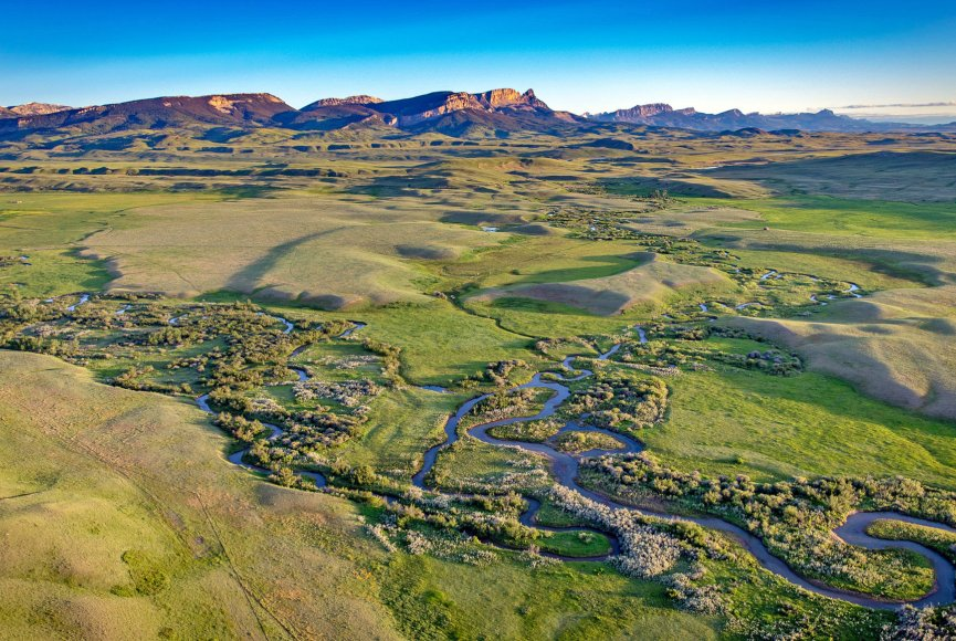Stunning Montana ranch for sale listed by Swan Land Company