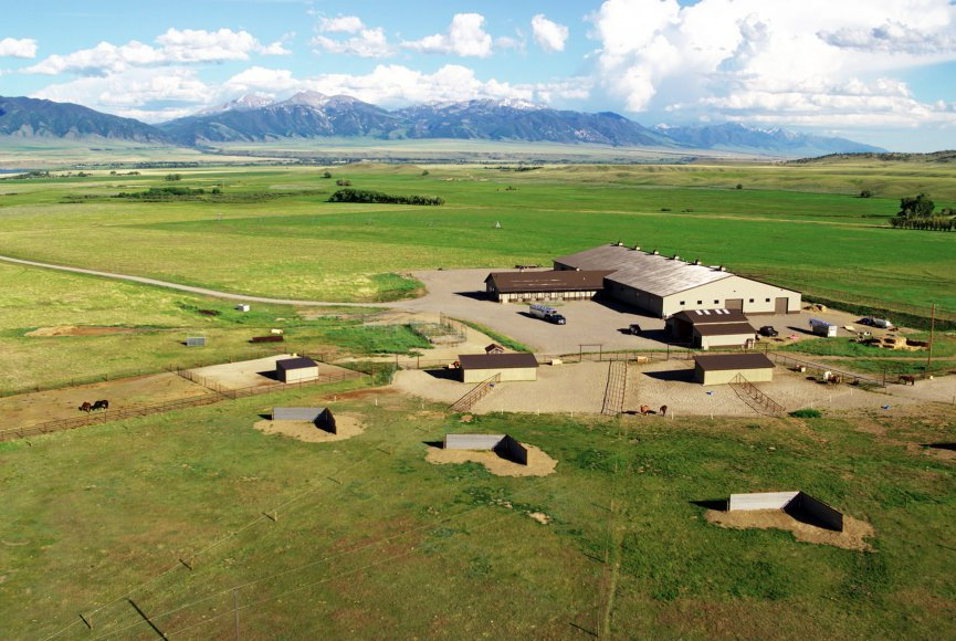 Spacious Montana ranch for sale listed by Swan Land Company