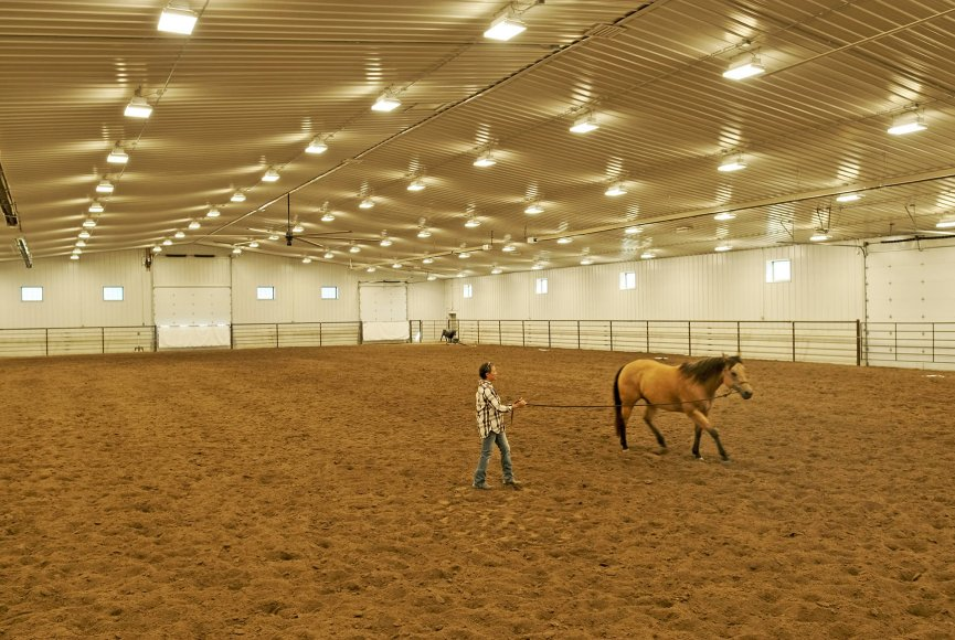 Incredible facilities on this Montana ranch for sale
