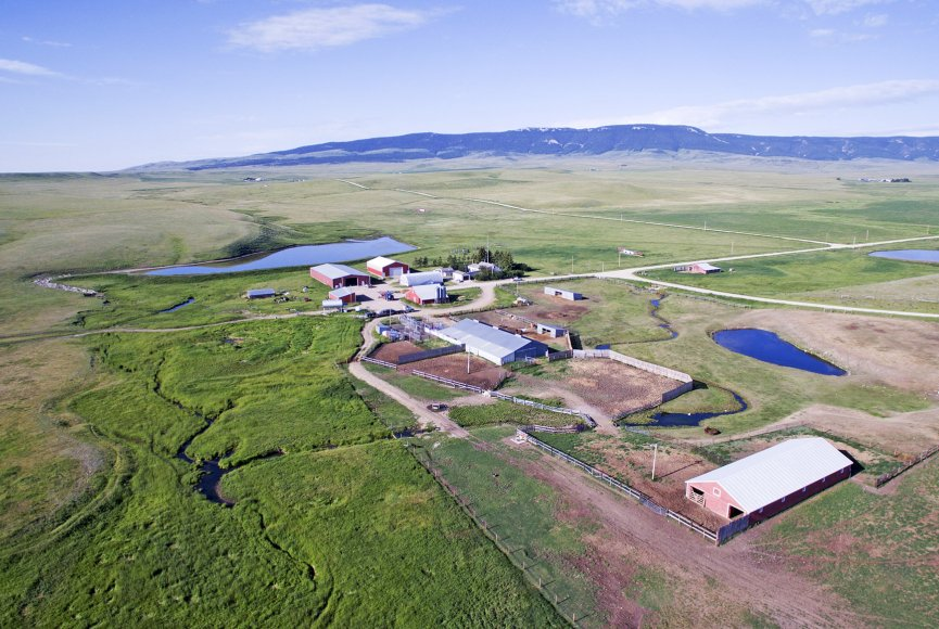 Large Montana ranch for sale listed by Swan Land Company