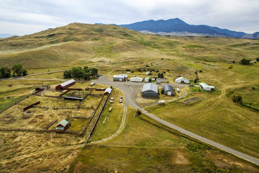 Ranch for sale in Montana listed by Swan Land Company