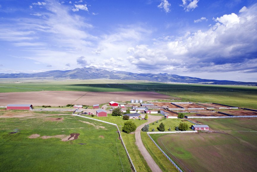 Productive Montana ranch for sale listed by Swan Land Company