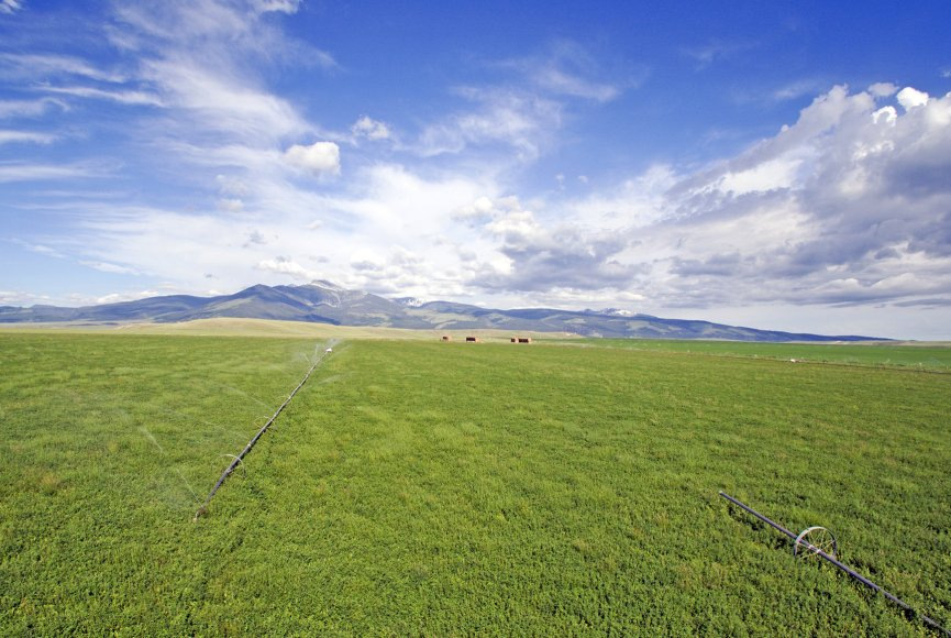 Cattle equipment included on this Montana ranch for sale