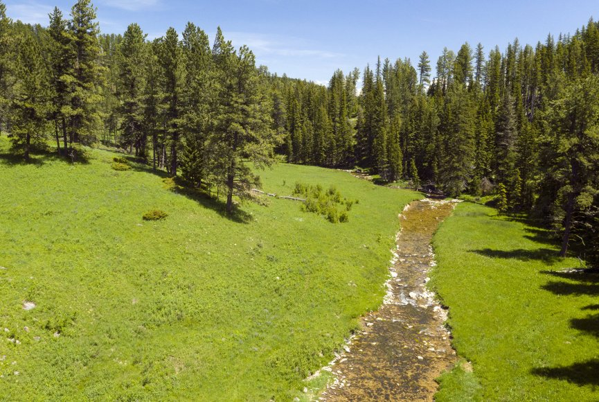 Enjoy the views on this Montana ranch for sale