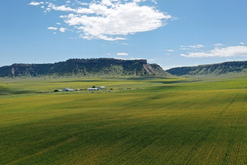 Plenty of space to roam on this Montana ranch for sale