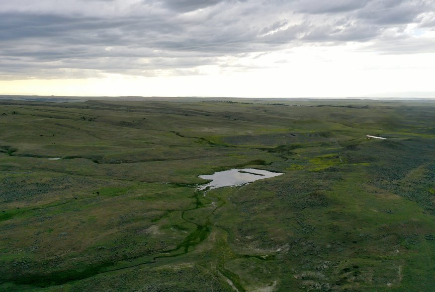 Open space feeling on this Montana property for sale