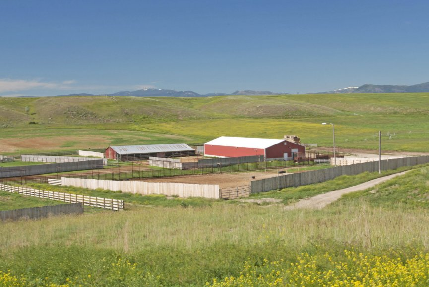 Ranch for sale in Montana has great potential
