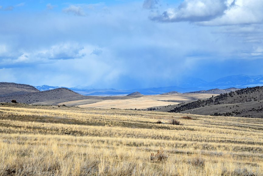 Wide open space on this Montana land for sale