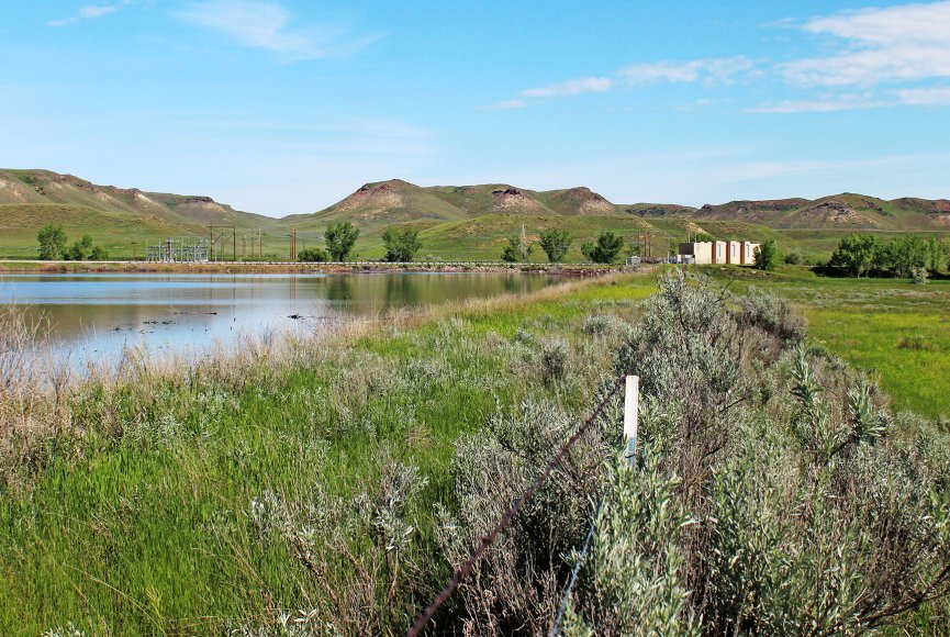 Land for sale in Wyoming includes precious water rights for sale