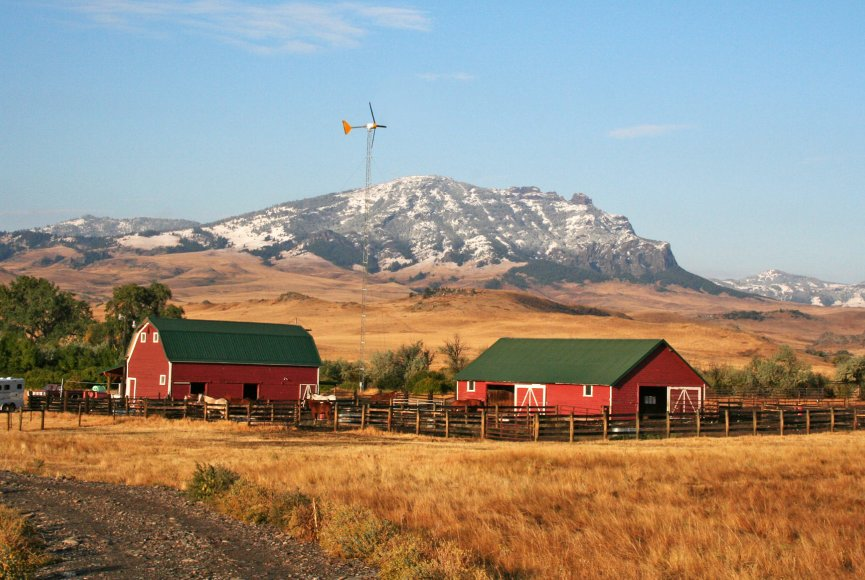 Montana ranch for sale with a lot of space to roam