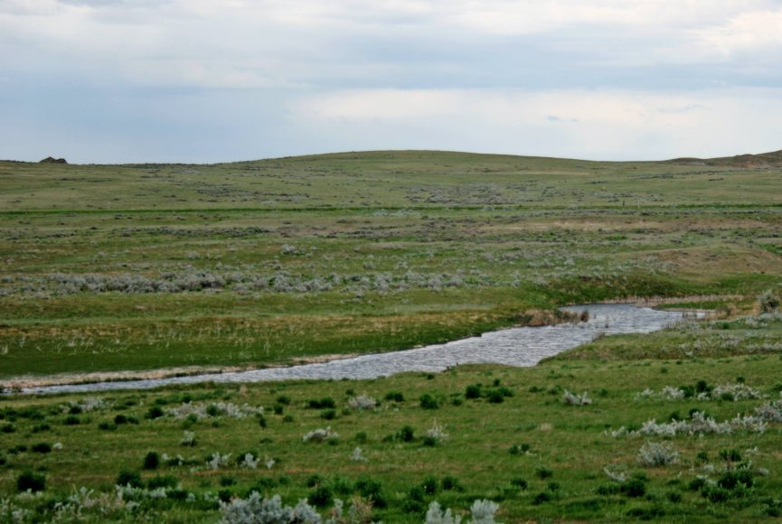 Farmland on this Montana property for sale