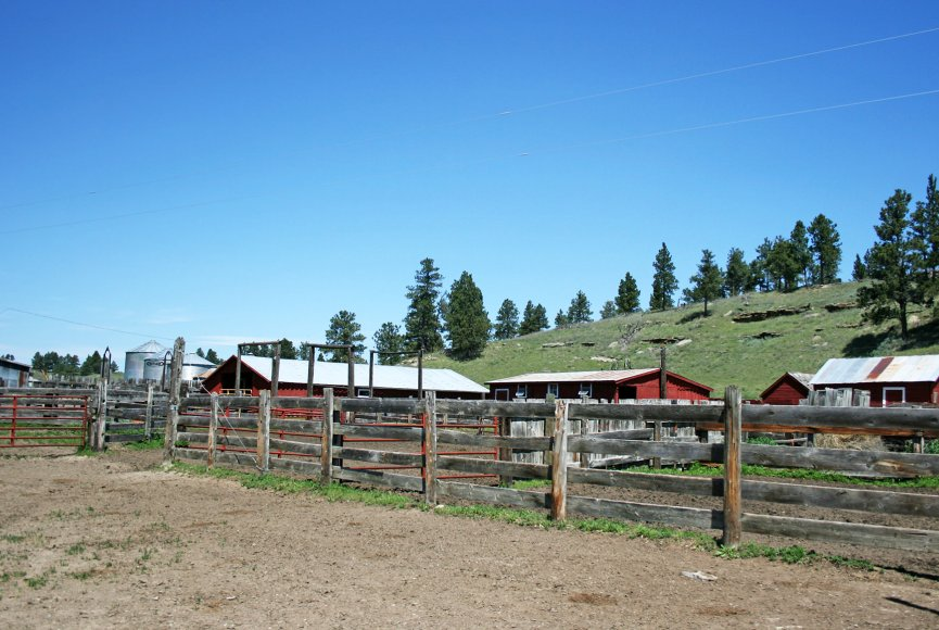 Montana land for sale with western flair is listed by Swan Land Company
