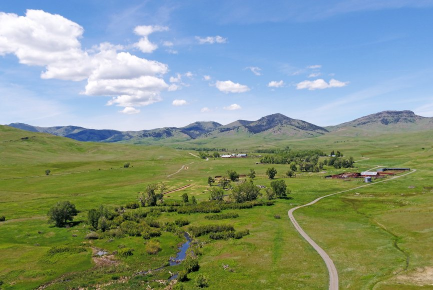 Montana land for sale is in great shape