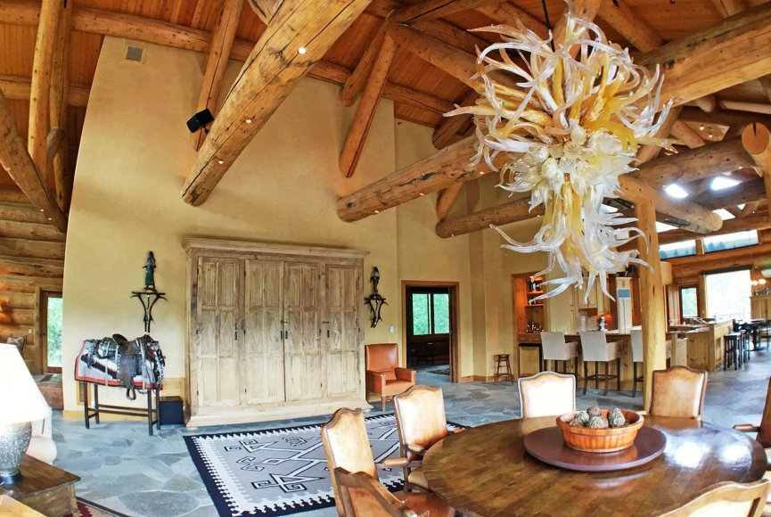 A lovely home on this Montana ranch for sale