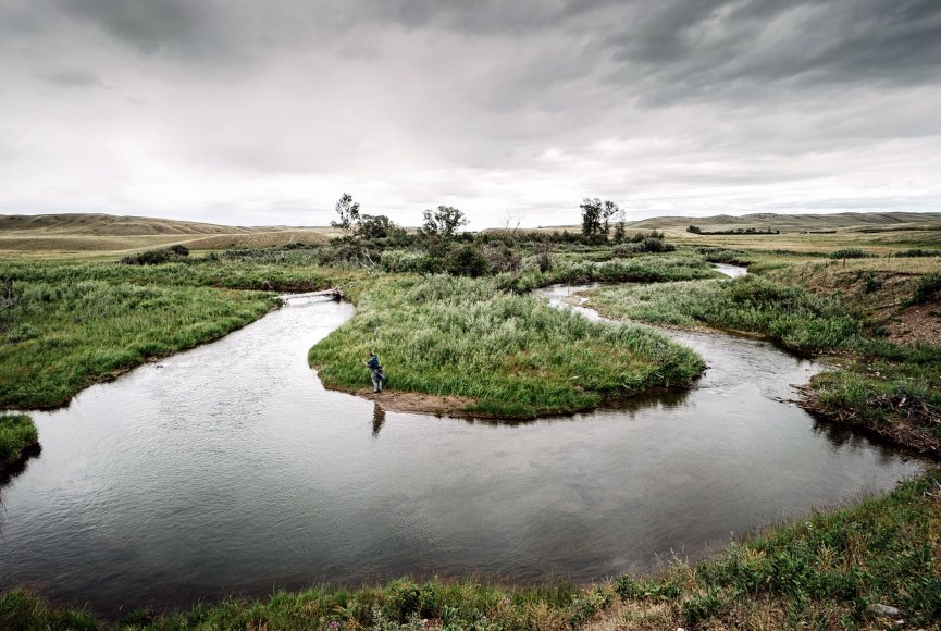 Ranch sustains wildlife on this Montana ranch for sale